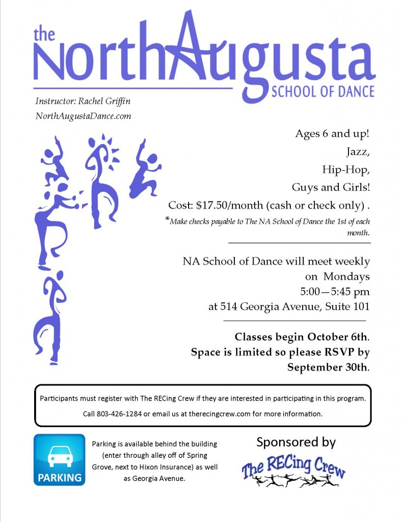 NA Dance Studio @ North Augusta School of Dance | North Augusta | South Carolina | United States