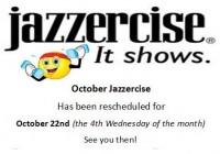 October Jazz resched