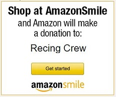 Shop Amazon Smile for a donation to The RECing Crew