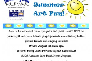 ARTability August 1st from 11a-1p