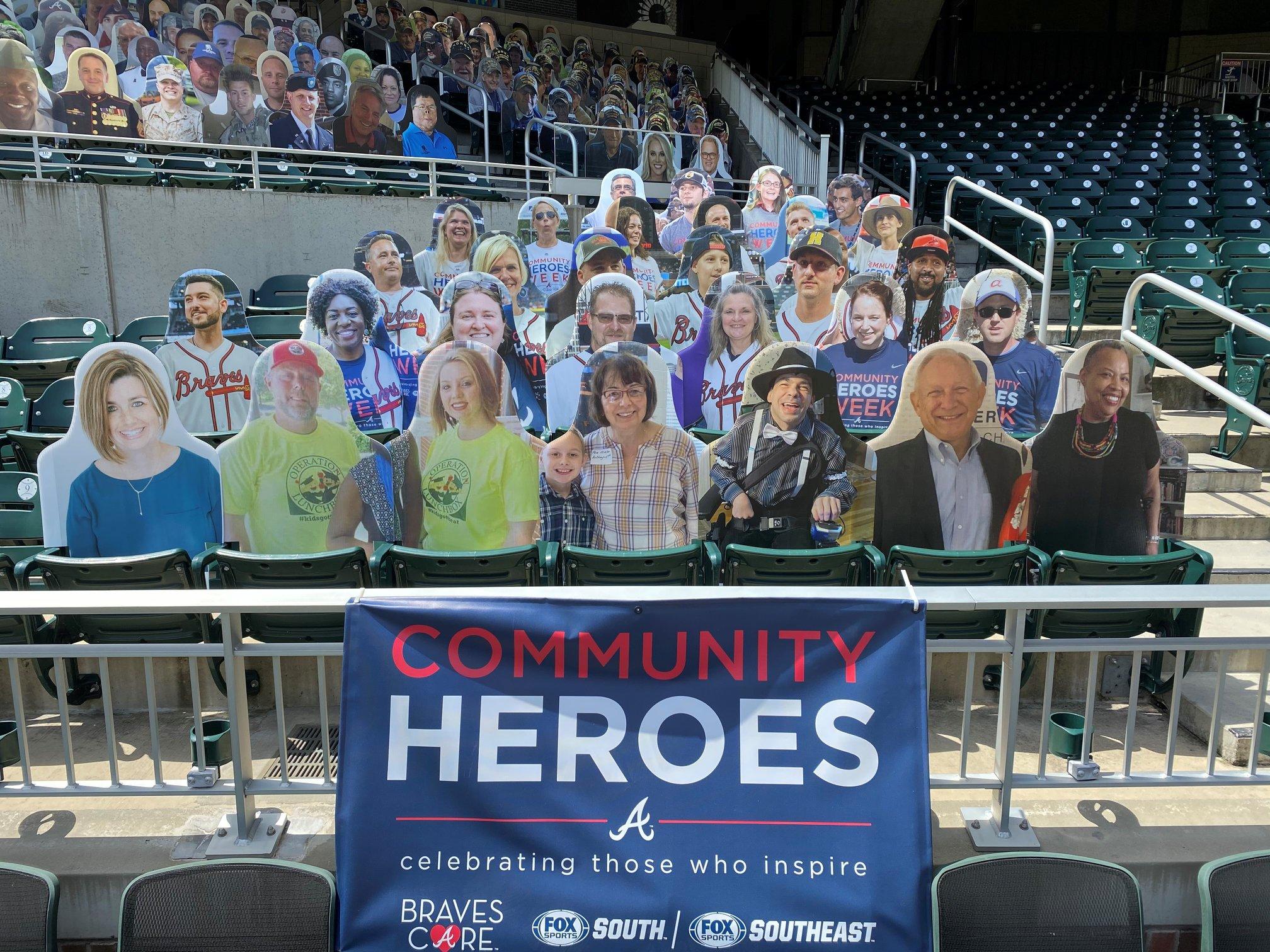 Atlanta Braves Foundation Community Heroes Award